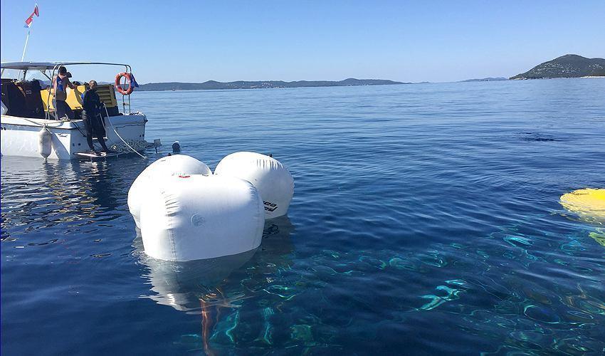 Izgorena Princess 65 izvađena sa 68 metara dubine!